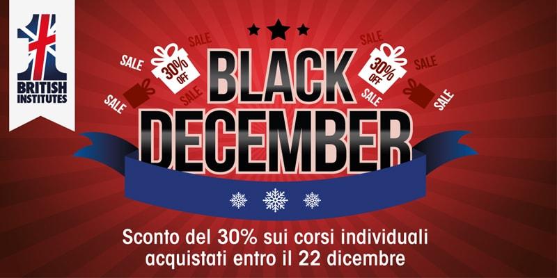 Promozione Black December 2017