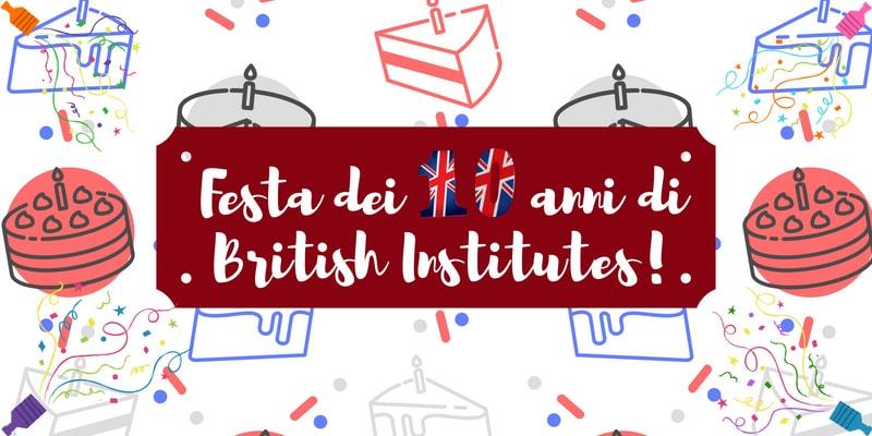 Festa dei 10 anni di British Institutes Roma Salario