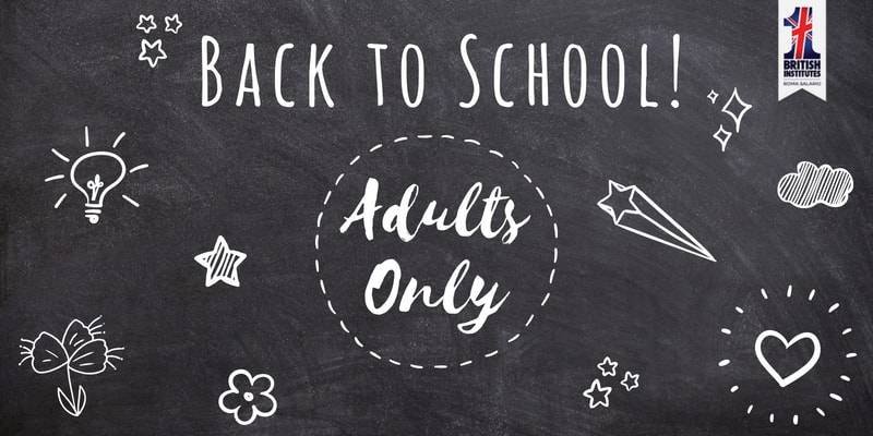 Promozione Back to School: Adults Only!