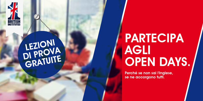 Open Days 2018 British Institutes Roma Salario