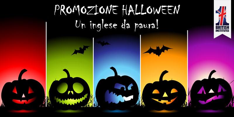 Promozione Halloween... Un inglese da paura!