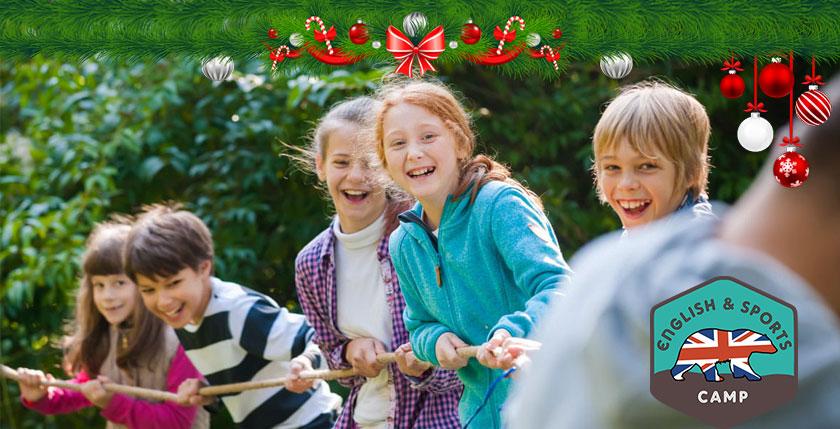 Promozione di Natale English & Sports Camp